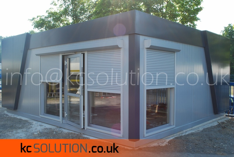 Prefab modular office small portable cabins office KC Solution