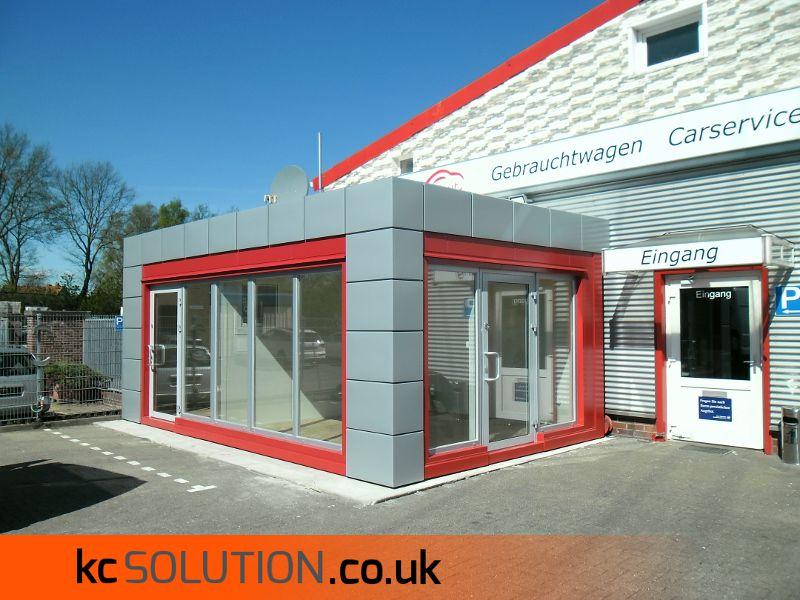 Small Portable Office Buildings : Prefab modular office small portable cabins kc